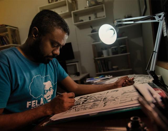 HQ Cumbe, de Marcelo D'Salete , sobre a escravidão no Brasil, terá edição em Portugal