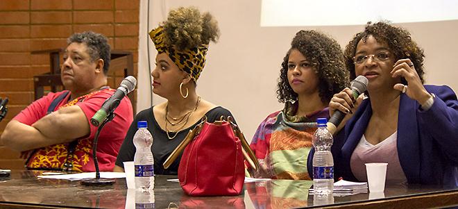 OCUPAÇÃO: Acadêmicos debatem racismo e referencial negro da sociedade brasileira