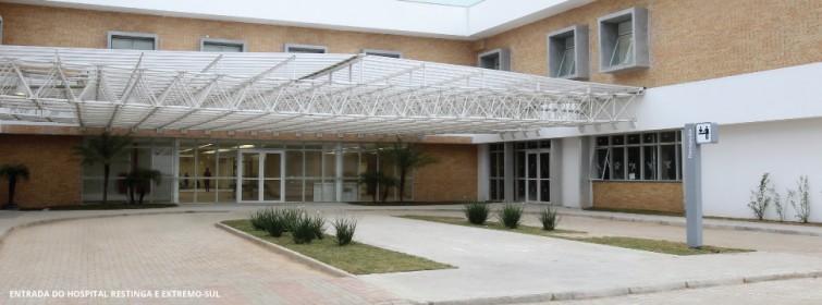 Hospital foi inaugurado em julho de 2014 | Foto: Hospital Restinga/ Divulgação