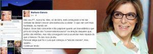 Barbara Gancia reage ao ódio dos 'Conservadossauros'
