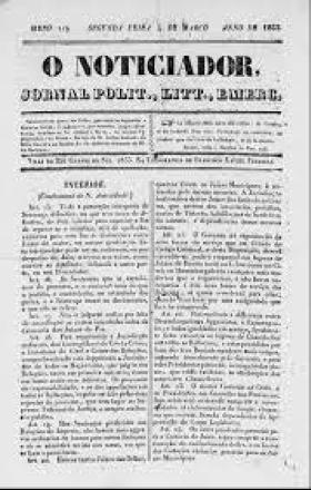 """O """"Chico da Botica"""": o jornalista pioneiro"""