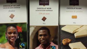 Monoprix taxé de racisme pour ses emballages de chocolats