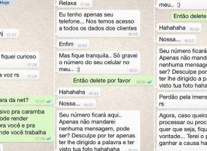 NET diz que vai demitir funcionário e sugere que cliente faça BO após assédio via Whatsapp