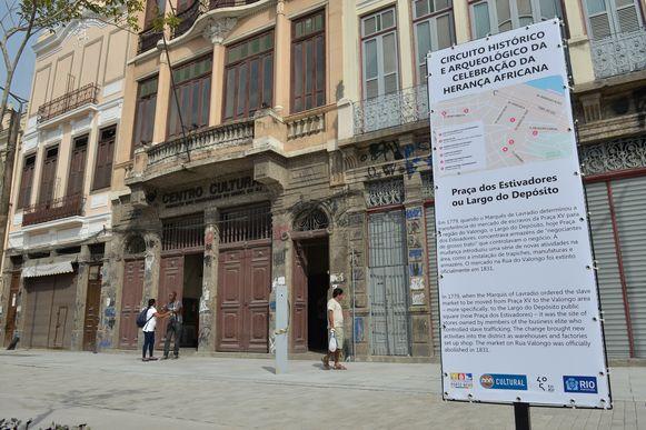 Rio conclui revitalização de circuito da herança africana na zona portuária