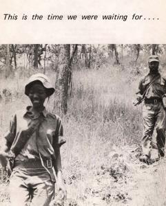 Brochura de homenagem a Josina Machel   Arquivo Fundação Mário Soares