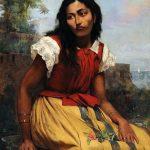 Antônio_Rafael_Pinto_Bandeira_-_Moça_sentada,_1886