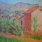 João_Timótheo_da_Costa,_A_casa_cor_de_rosa,_óleo_sobre_madeira,_31_x_27_cm,_1921,_Photo_Gedley_Belchior_Braga