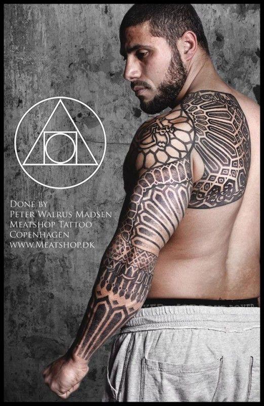 Magnífica tatuagem de Peter Walrus