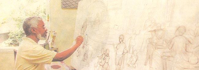 Sergio Vidal, um pintor carioca