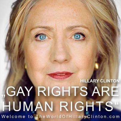 Pré-candidata à presidência dos EUA, Hillary Clinton lança vídeo de apoio ao casamento gay