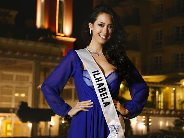 Nova Miss Mundo Brasil, Catharina Choi Nunes, tem ascendência coreana e estuda comunicação  (Foto: Leonardo Rodrigues/MMB)