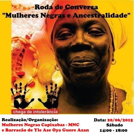 III encontro pernambucano das mulheres de terreiro Apejó Eketá Obirin N`ILE