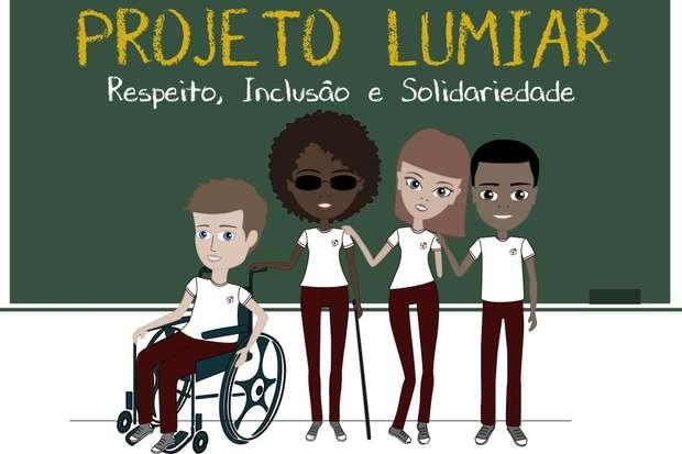 """Convidada por Luana, a ex-aluna Talita Amorim fez a arte gráfica do projeto """"Lumiar"""" - Foto: Foto: Cartola - Agência de Conteúdo"""