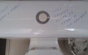 O racismo no banheiro