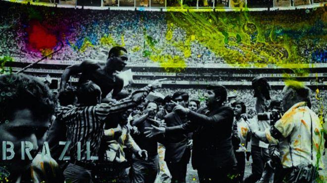 Pelé inspira arte em nova exposição em Londres