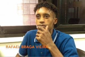Preso injustamente desde 2013, Rafael Braga volta a trabalhar fora da prisão