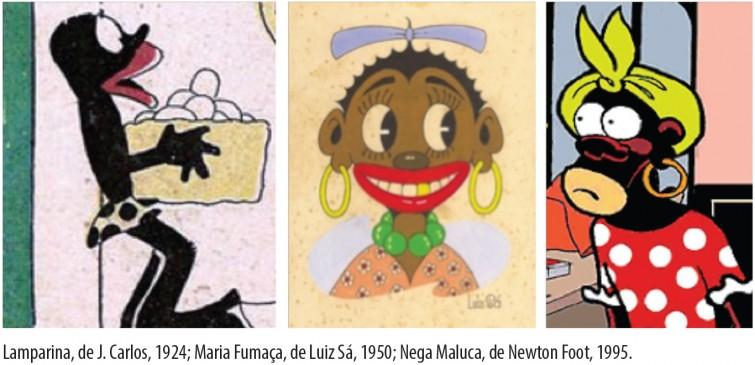 Entre o grotesco e o risível: o lugar da mulher negra na história em quadrinhos no Brasil