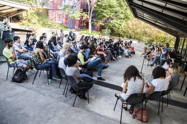 22 de agosto de 2015. Encontro de Mídia Independente com foco em gênero e sexualidade no Centro Cultural São Paulo. Promovido pelo coletivo Generx e pela Revista Geni.