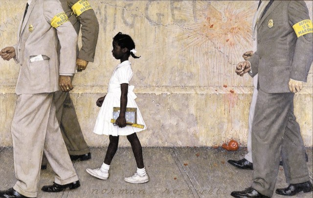 ruby-bridges-norman-rockwell