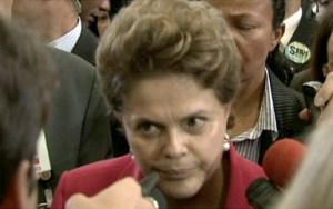 """A presidenta Dilma Rousseff em entrevista de 2011, quando ela se posicionou contra a """"propaganda de opções sexuais"""": momento que marca sua ruptura com a questão de gênero e sexualidade."""