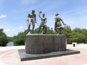 Desenkadená ou Estátua de Tula, Curaçao.