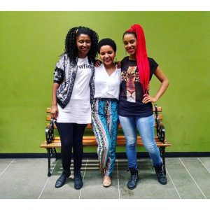 Jovens, negras da periferia: elas são o que querem ser!