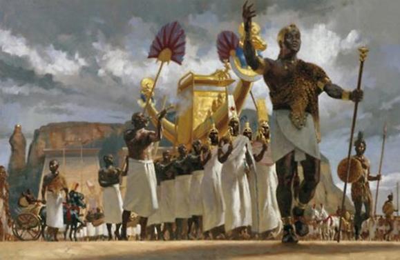 Outra representação do Faraó Negro Piye (Fonte: National Geographic)