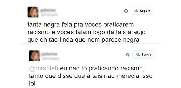 Preconceito transparece em post de'apoio' a Taís Araújo