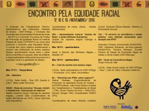 Encontro discute o racismo nas instituições federais de ensino superior de Goiás