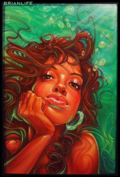 """""""Aqua Girl"""" - Brian ORiordan"""