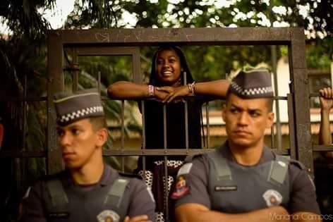 Durante a ocupação | Foto de Mariana Campos