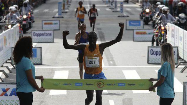 Atletas africanos mantém hegemonia na São Silvestre