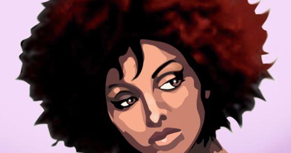 Aquela mulher negra bela