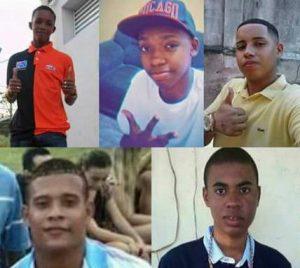 Fernando Molica: Um monumento para os cinco jovens