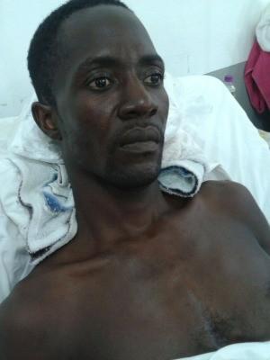 Haitiano fica paraplégico após levar tiro na frente de casa em Cuiabá