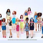 Bonecas Barbie ganham 3 novos tipos de corpo, 7 tons de pele e 22 cores de olhos!