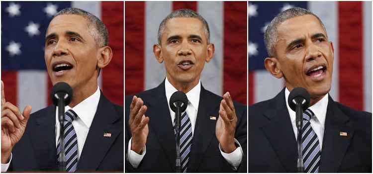 """O presidente reafirmou que os EUA ainda são o país mais poderoso do mundo, destacando que """"as versões sobre sua decadência econômica, diplomática ou militar são apenas fumaça"""""""