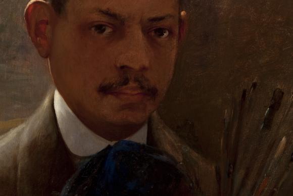 São Paulo - Mostra de Artistas negros é apresentada na Pinacoteca de São Paulo, na foto o Autoretrato de Arthur Timótheo da CostaIzabella Matheus/Pinacoteca do Estado de São Paulo