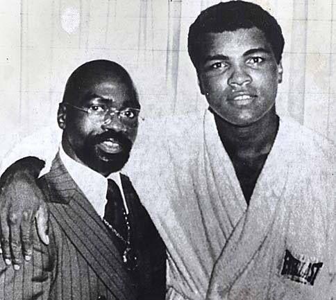 Rubin Carter e Muhammad Ali