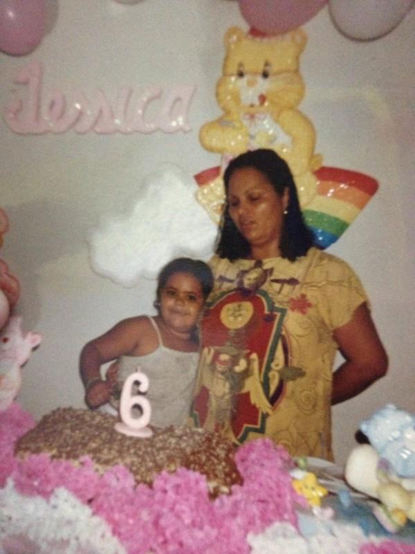 1996, festinha em casa e bolo de chocolate <3