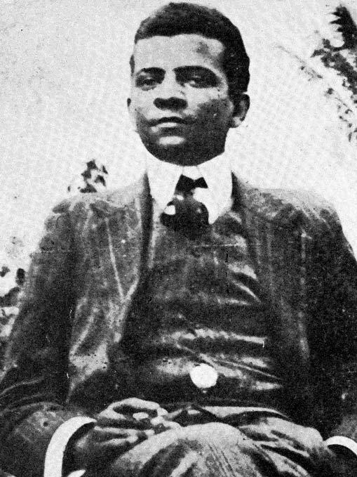 """Lima Barreto em 1909, ano de lançamento de """"Recordações do escrivão Isaías Caminha"""""""