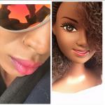 A modelo caribenha Mala Bryan lança bonecas negras com cabelos crespos