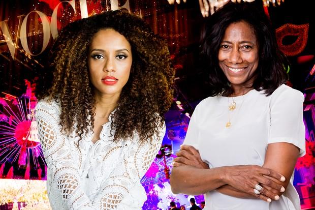 Gloria Maria e Taís Araújo serão as rainhas do Baile de Carnaval da Vogue 2016