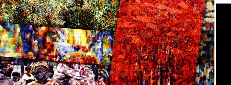 A fertilidade da pintura contemporânea de Gana Uma janela entre sociedade e arte