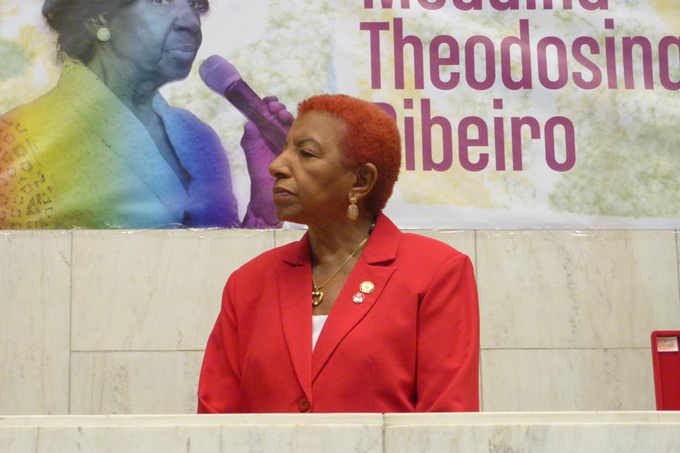 Deputada Leci Brandão homenageia mulheres com Medalha Theodosina Ribeiro