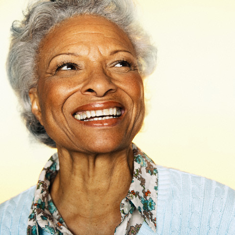 Senior Woman --- Image by © Ned Frisk Photography/Corbis