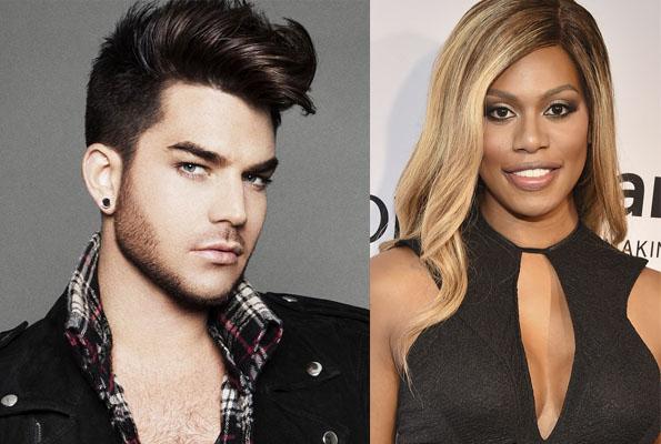 Adam Lambert recusa papel para dar espaço a atrizes trans; Laverne Cox foi escolhida