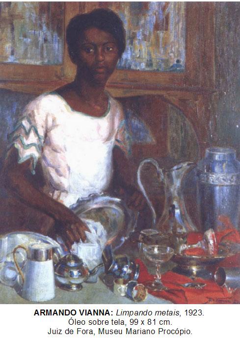 Algo além do moderno: a mulher negra na pintura brasileira no início do século XX *