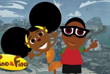 Bino e Fino ensinado história da África para crianças