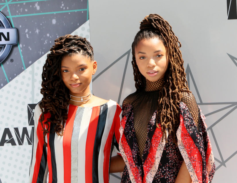 LOS ANGELES, CA - JUNE 26: Chloe x Halle attend the 2016 BET Awards at Microsoft Theater on June 26, 2016 in Los Angeles, California. (Photo by David Livingston/Getty Images)